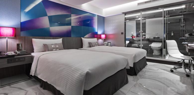 甄美精品旅店 - 高級雙人房 6